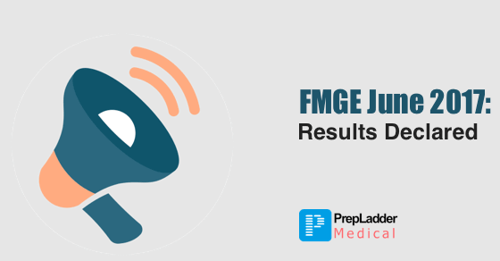FMGE June 2017 Result Declared  Check your result here