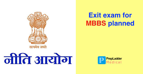 NITI Aayog plans National Exit Exam for MBBS, Seeks Comments