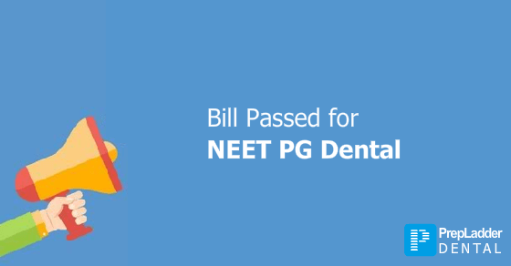 Rajya Sabha passes bill to Implement NEET for Dental PG