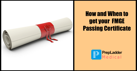 How and when to get your FMGE Passing Certificate for June 2016 Session