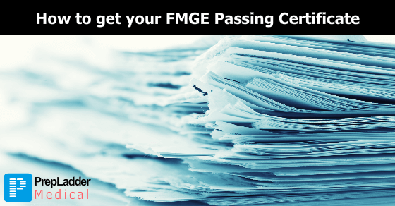 How to get your FMGE Passing Certificate