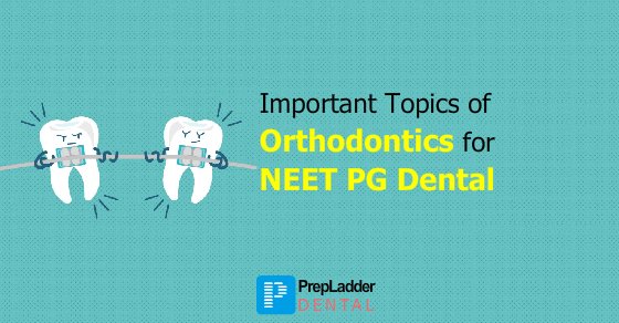 Most Important Topics of Orthodontics for NEET MDS