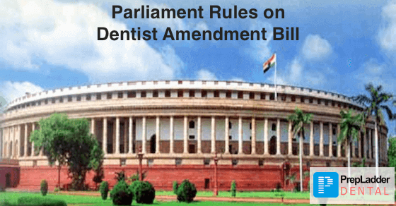 Parliament passes the Dentist Amendment Bill 2016