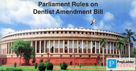Parliament passes the Dentist Amendment Bill 2016