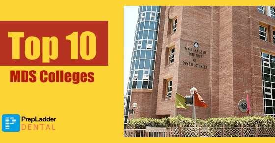 Top 10 MDS Colleges in India