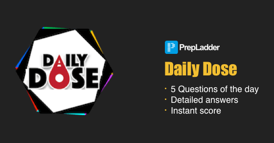Daily Quiz by PrepLadder