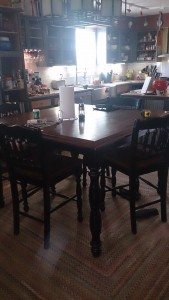 The Symmetrical Table Placement.
