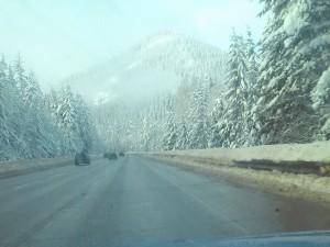 Cresting Snoqualmie Pass