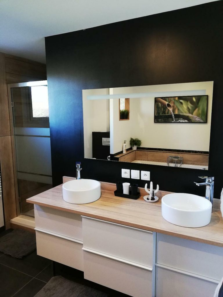 Salon De Bain Moderne salle de bain moderne : 30 idées pour vous inspirer ! - kozikaza