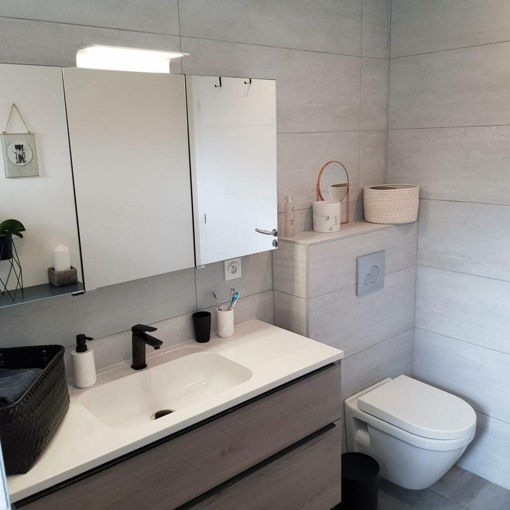 wc suspendu salle de bain moderne