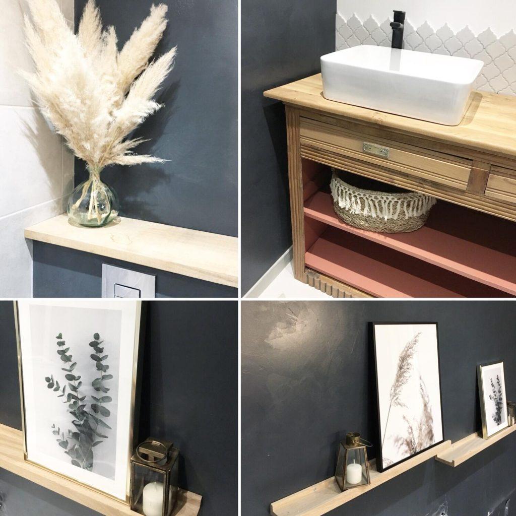 décoration accessoires tendances salle de bain