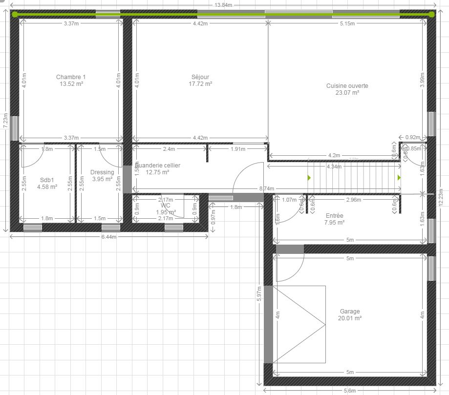 kozikaza plan appartement