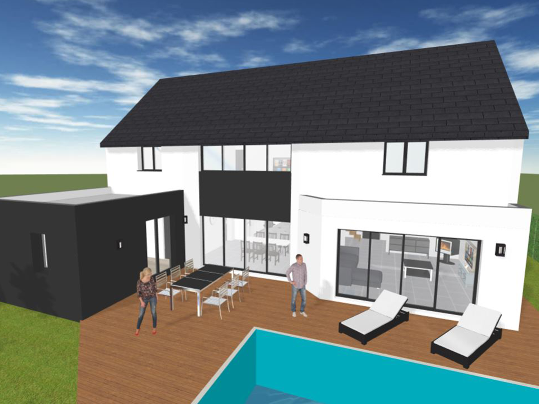 Plan 3D Maison facile gratuit
