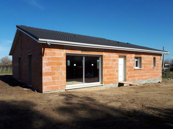 Etape construction maison hors d'eau hors d'air heha