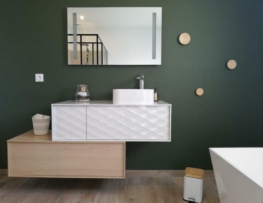 Meuble Salle De Bain Design Contemporain salle de bain moderne : 30 idées pour vous inspirer ! - kozikaza
