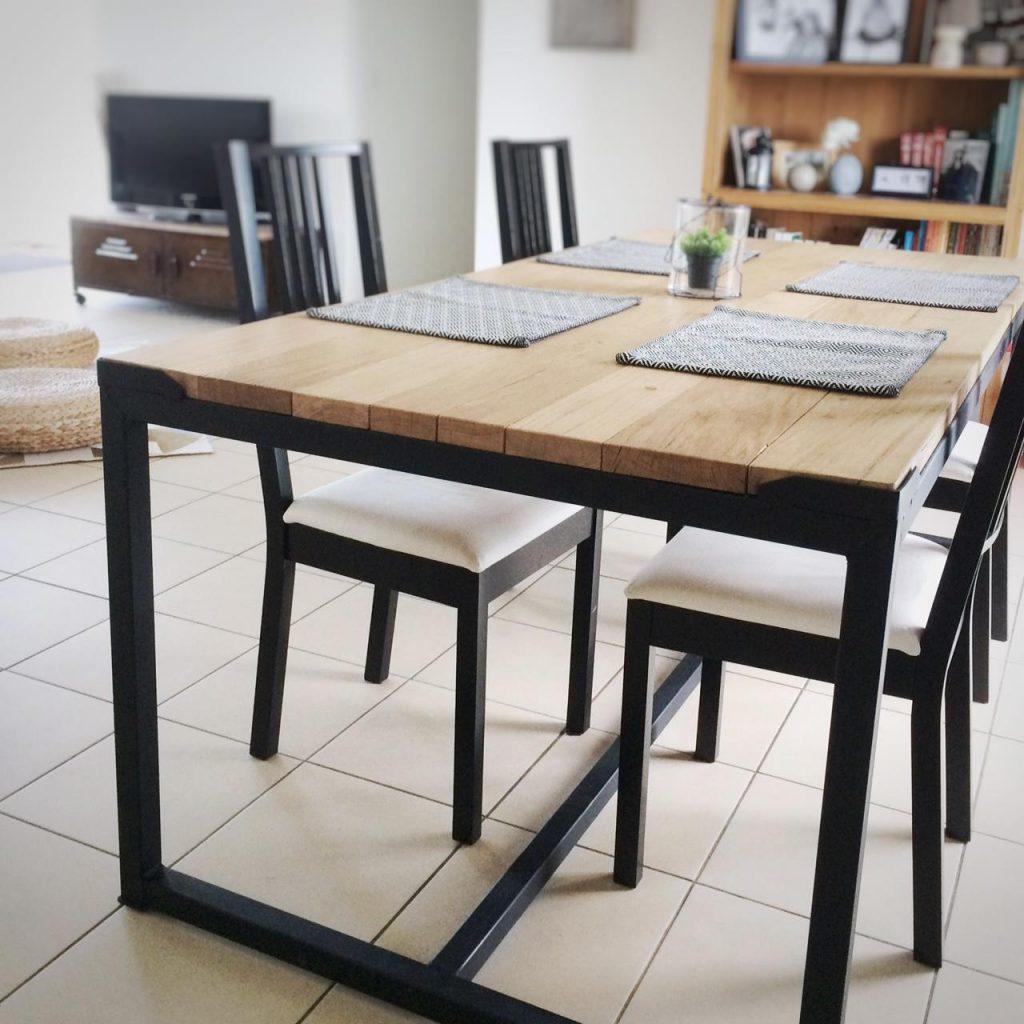 diy table industriel pas cher