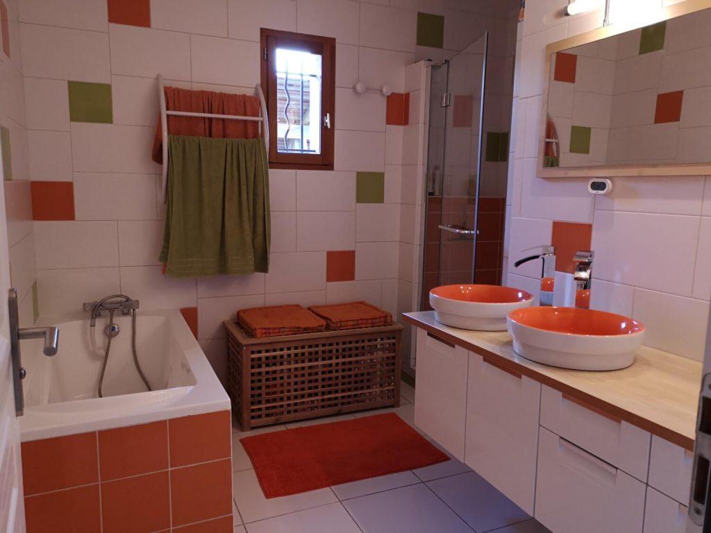 Salle De Bain Brique carrelage de salle de bain : 30 idées pour vous inspirer