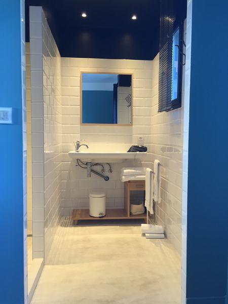 salle-de-bain-blanche-plafond-sombre