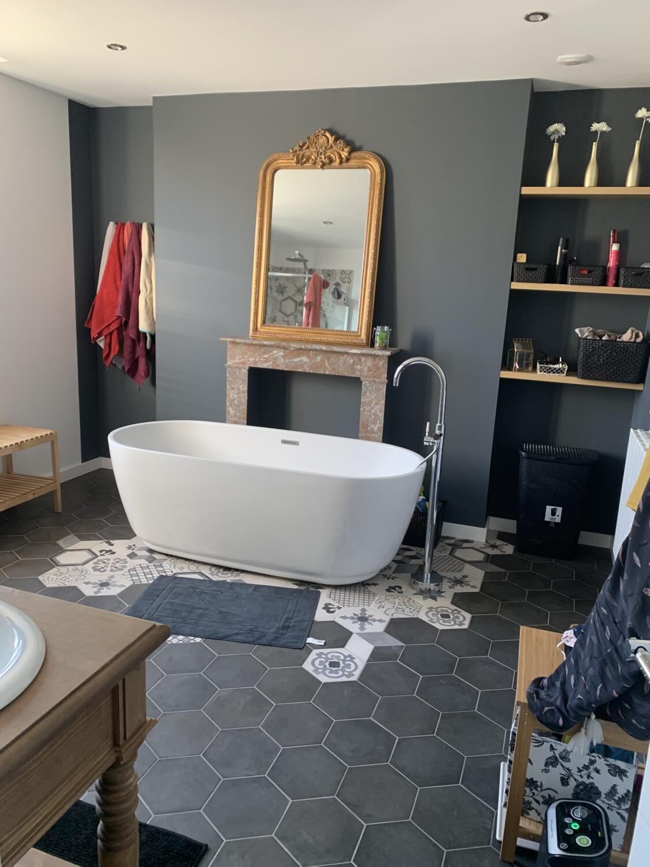 Carrelage Sol Salle De Bain Gris Anthracite carrelage de salle de bain : 30 idées pour vous inspirer