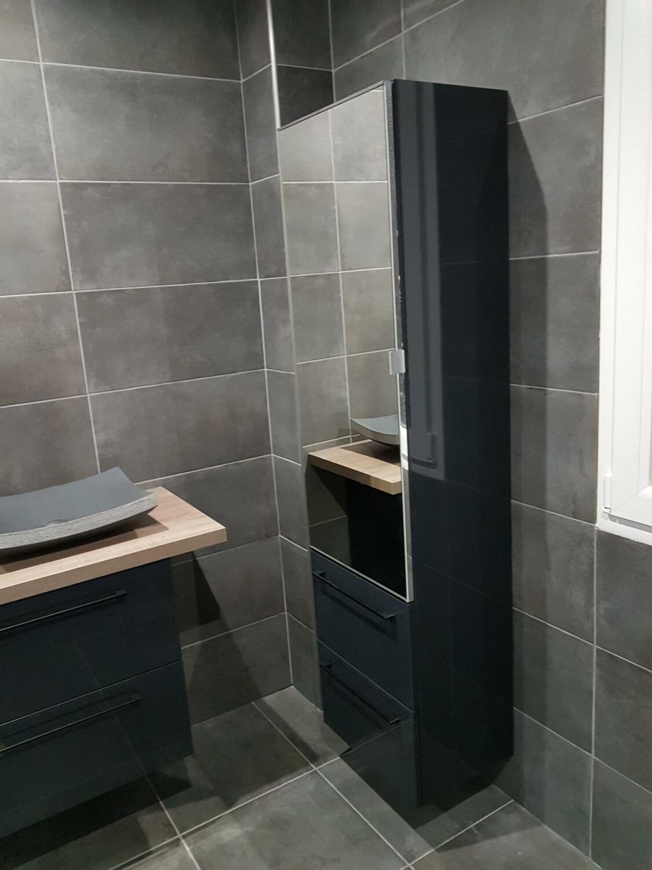 Meuble Haut Salle De Bain Avec Miroir rangement salle de bain : nos 25 astuces ! - kozikaza