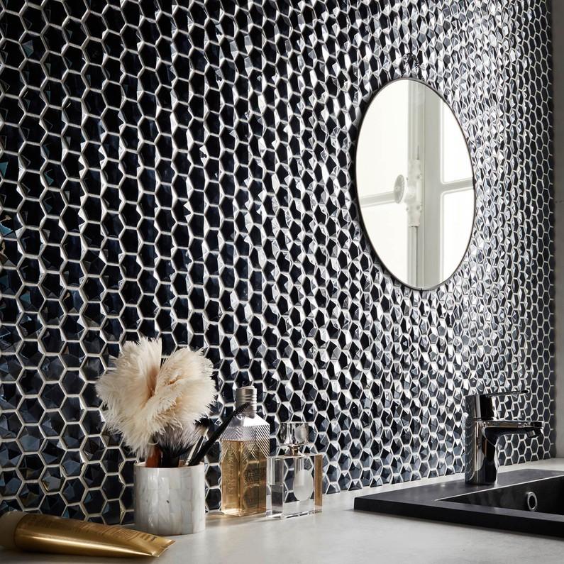mosaique-mur-diamond-futurisme-noir