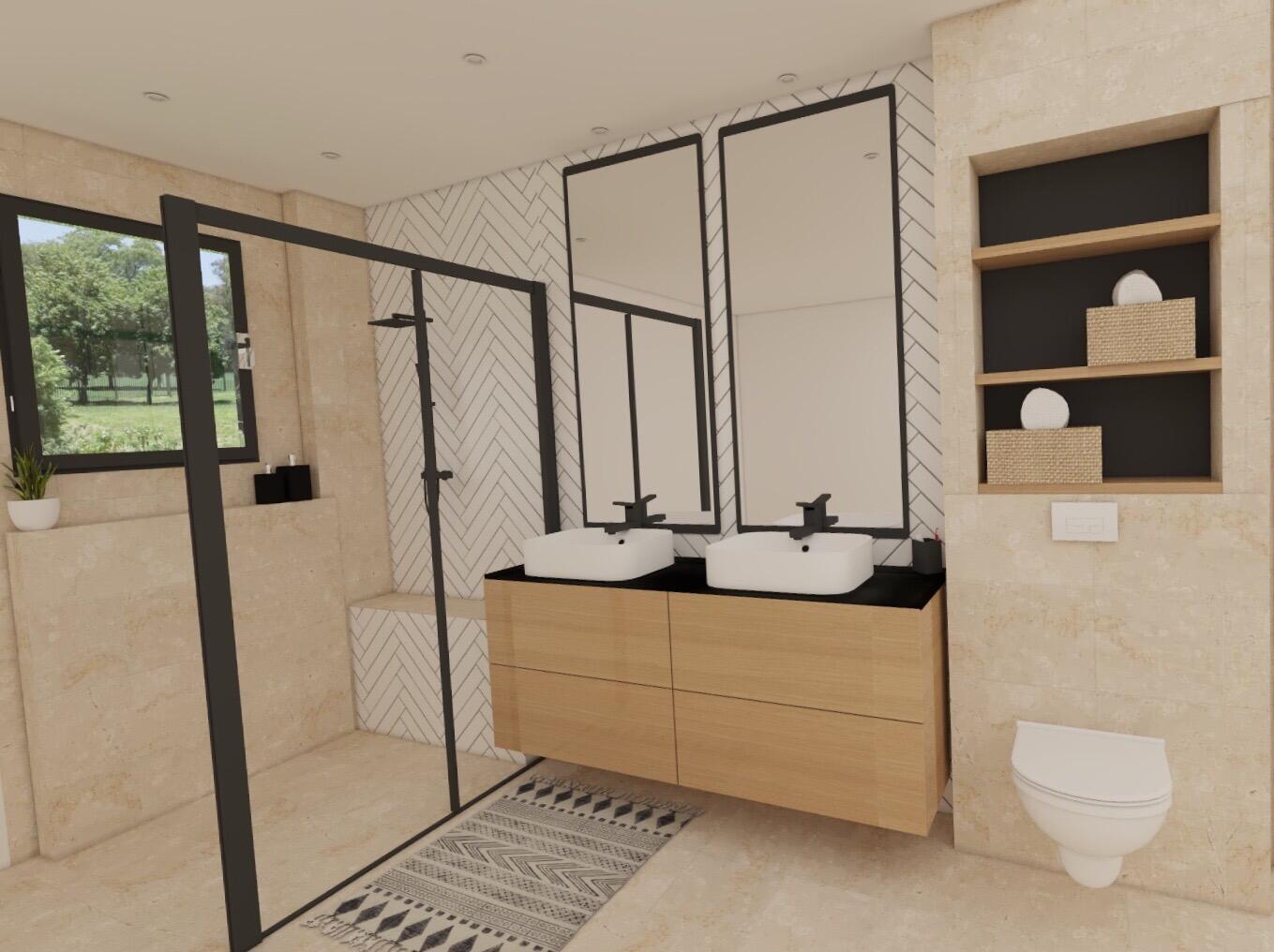 Salle De Bain Revetement salle de bain zen & nature : 30 idées pour vous inspirer