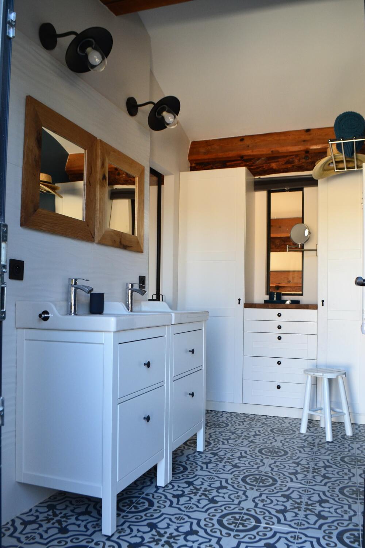 Ambiance Bord De Mer Chic salle de bain zen & nature : 30 idées pour vous inspirer