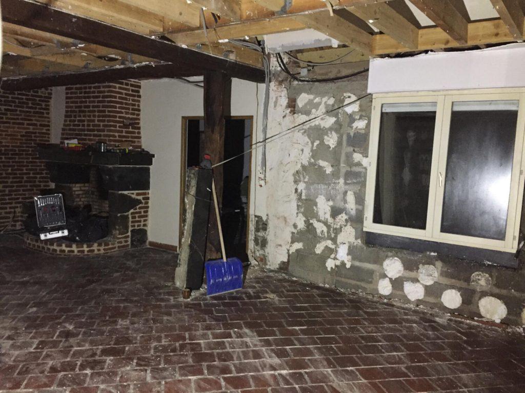 Maison Avec Travaux 77 visite de chantier - rénovation d'une vieille maison par