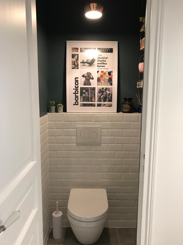 Comment Decorer Les Wc décorer ses wc : 25 idées pour vous inspirer ! - kozikaza