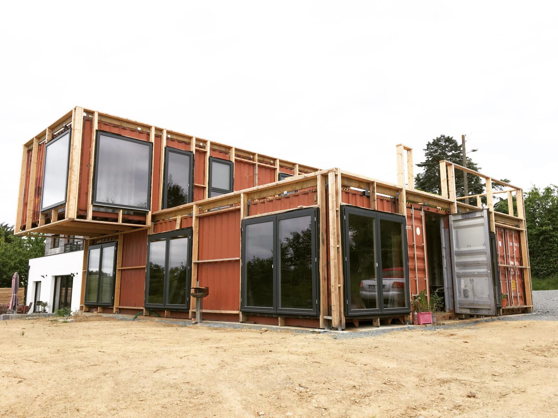 Maison container de livin_in_the_steel, à retrouver sur la communauté Kozikaza