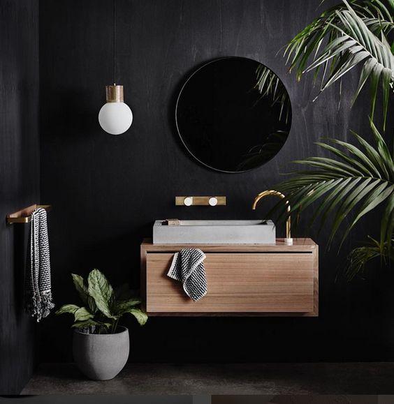 sdb-noire-moderne-total-look