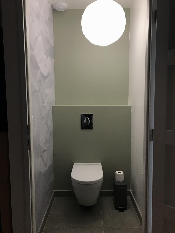 Idee Papier Peint Wc décorer ses wc : 25 idées pour vous inspirer ! - kozikaza
