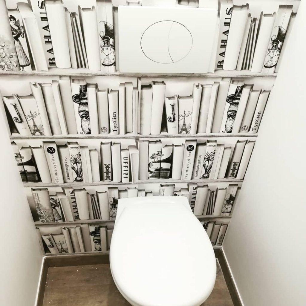 Affiche Ancienne Pour Salle De Bain décorer ses wc : 25 idées pour vous inspirer ! - kozikaza