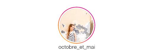 profil influenceuse octobre et mai