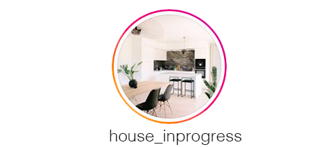 profil Instagram de l'influenceuse house_inprogress