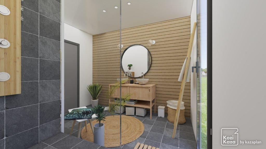 Inspiration #1 : Salle de bain zen - Kozikaza
