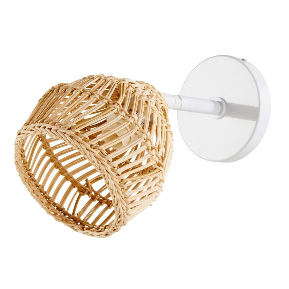 applique-en-fibre-naturelle-et-metal-blanc