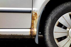 Coche oxidado: ¿cómo arreglar?