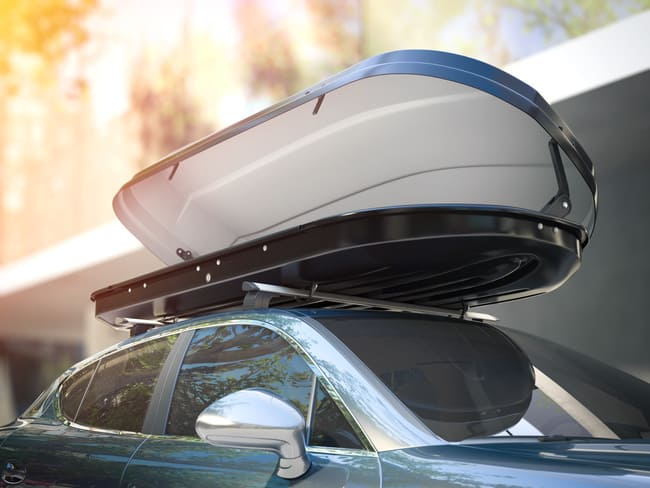 Tipos de cofres de techo coche