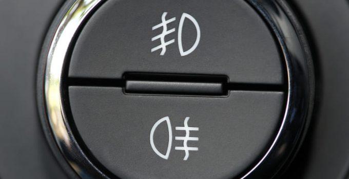 Luz antiniebla: funciones y reglas