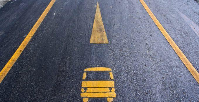 Carril bus-HOV: reglas y restricciones
