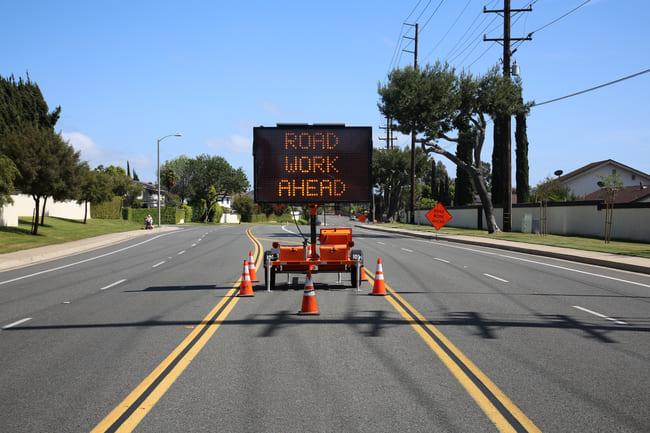 Tipos de señales de tráfico: señalización circunstancial