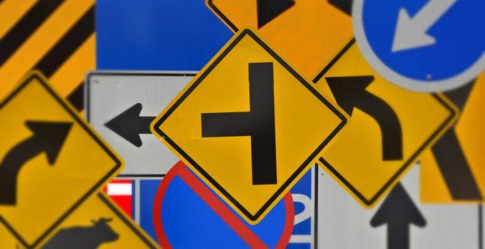 Tipos de señales de tránsito en España