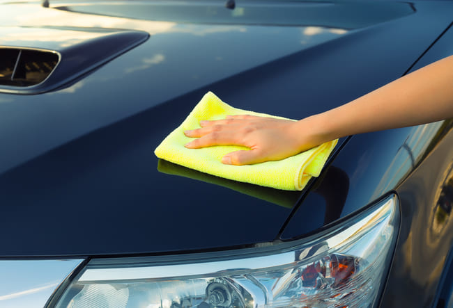 qué trapo usar para secar el auto
