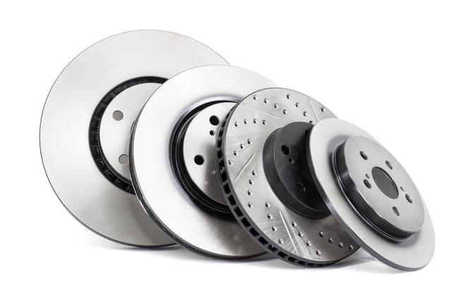Tipos de discos de travão