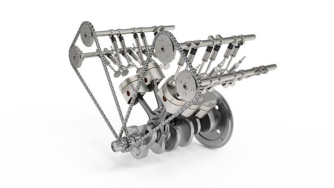 Como funciona a cambota do motor