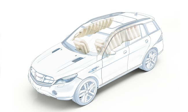 Auton passiivinen turvallisuus: turvatyynyt