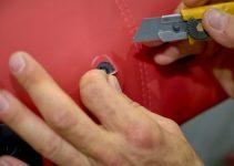 Réparation siège auto : BRÛLÉ, DÉCHIRÉ