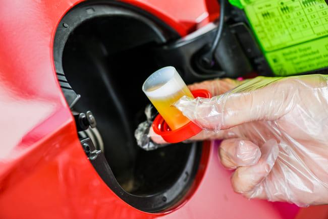 Pulire filtro benzina