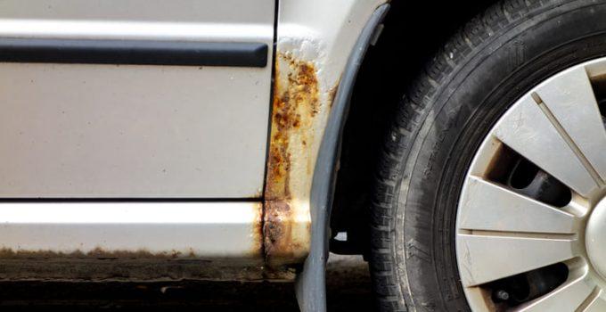 Ruggine sulla carrozzeria auto: come riparare